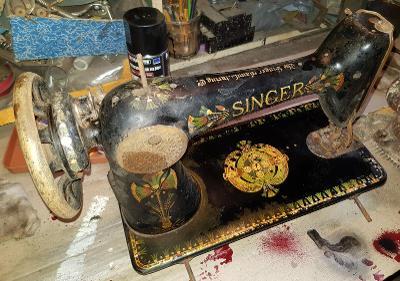 šicí stroj Singer
