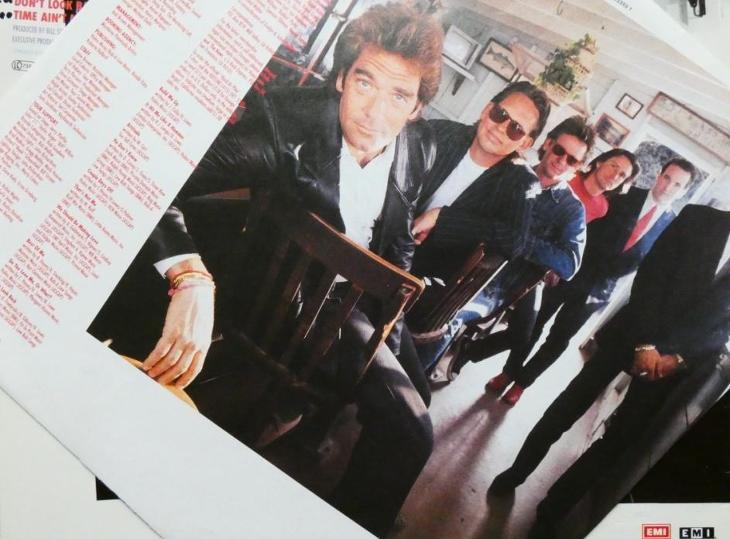 Huey Lewis And The News – Hard At Play - LP EMI 1991 Europe - Hudba