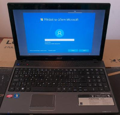 Notebook Acer Aspire 5551G/4GB RAM/500 GB HDD/WIN 10
