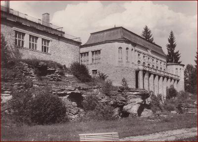 Vyšné Ružbachy (Stará Ľubovňa) * lázeňský dům * Slovensko * V676