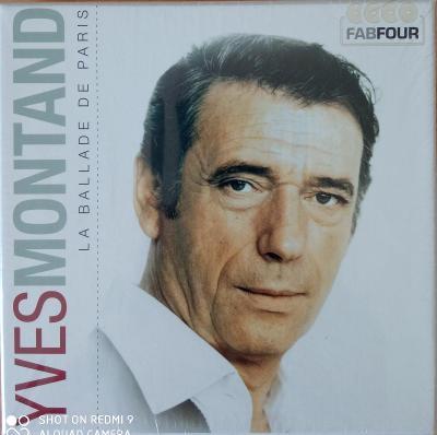 MONTAND YVESLa Ballade de Paris 4 CD BOX Fab Four