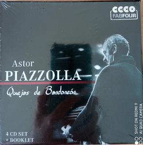 PIAZZOLLA ASTOR Quejas de Bandoneón 4 CD BOX Fab Four