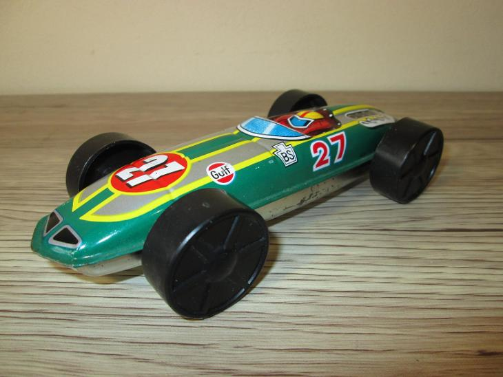 1970'S TIN GULF RACER  - Starožitnosti