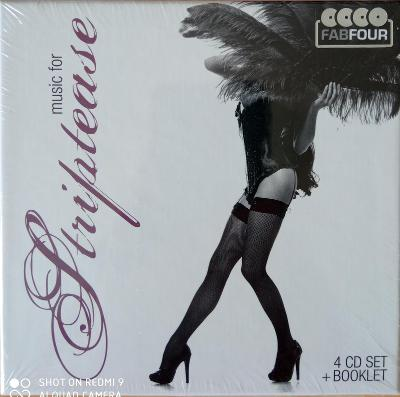 STRIPTEASE 4 CD BOX Fab Four