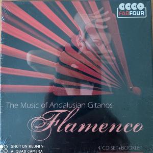 FLAMENCO The Music of Andalusian Gitanos 4 CD BOX Fab Four