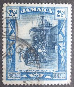 Jamajka 1922 Návrat vojáků Mi# 80 0139