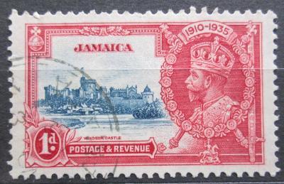 Jamajka 1935 Hrad Windsor Mi# 111 0139