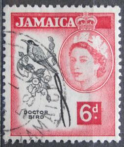 Jamajka 1956 Kolibřík červenozobý Mi# 168 0140