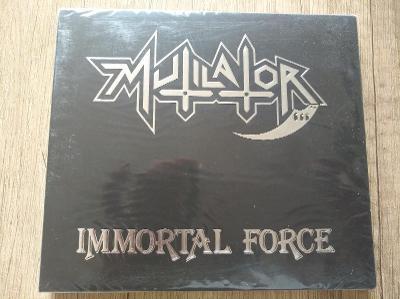 CD-MUTILATOR-Immortal Force/leg,trash,Brasil,reed,pres 2020,nové