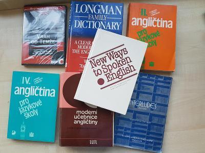 7 anglických učebnic
