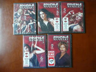 ZOUFALE MANZELKY 2.SERIE disk: 1, 3, 5, 6, 7 cz dabing NOVE, FOLIE