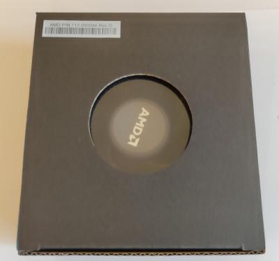 AMD box chladič procesoru CPU AM4 - Wraith Stealth - 712-000046 Rev D