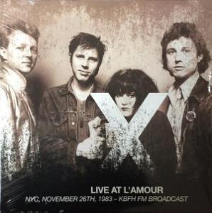 X - LIVE AT L'AMOUR 2LP