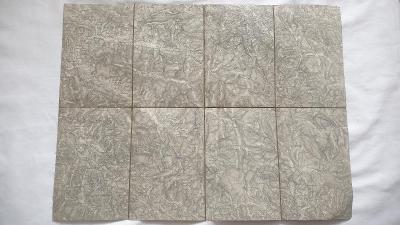 R-U vojenská mapa 1880-1900 -Železná Ruda- Šumava-Sudety-Hammern
