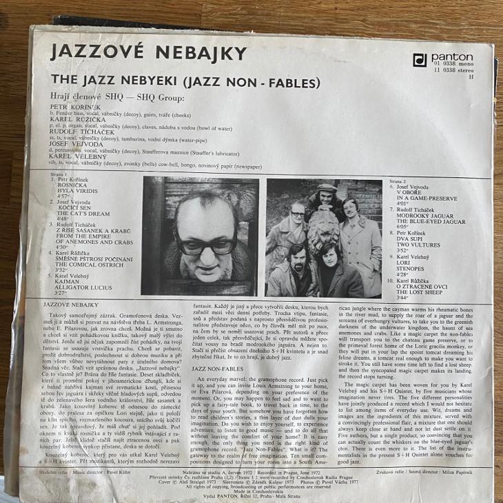 SHQ – Jazzové Nebajky - The Jazz Nebyeki (Jazz Non-fables) - LP vinyl - Hudba