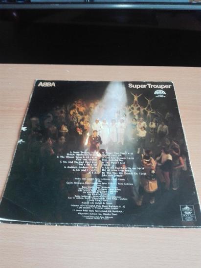 ABBA SUPER TROUPER - Hudba