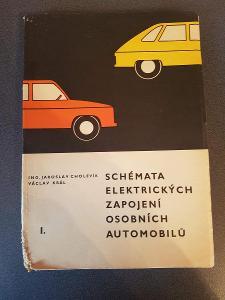 Kniha Schémata elektrických zapojení osobních automobilů