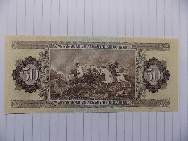 Maďarsko 50 forint UNC - Bankovky