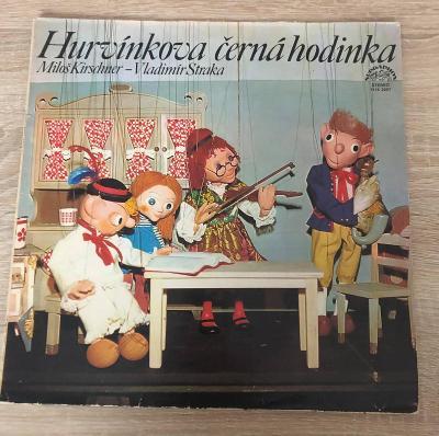 LP - Spejbl & Hurvínek - Hurvínkova Černá Hodinka