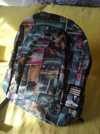 Batoh barevný 2 kapsy nový - Tašky, batohy, kufry