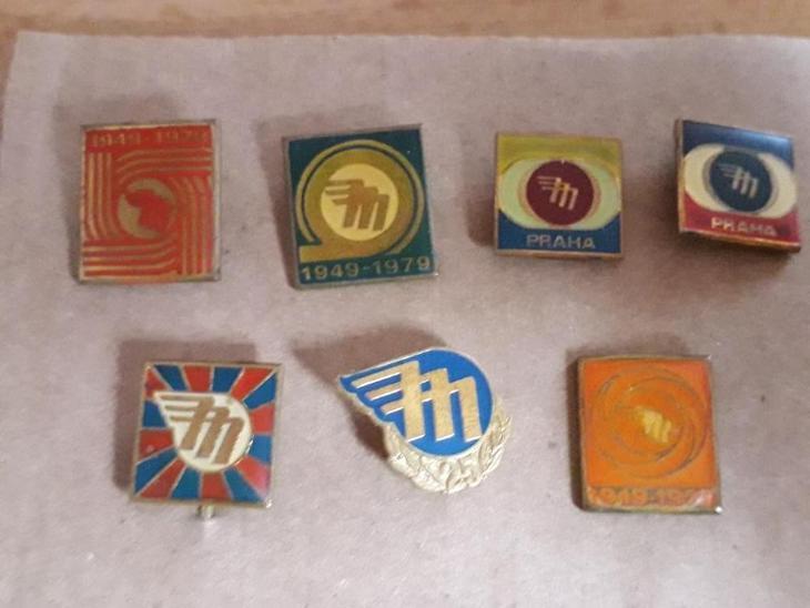 Odznaky nalezené na půdě - MOTOTECHNA - Faleristika