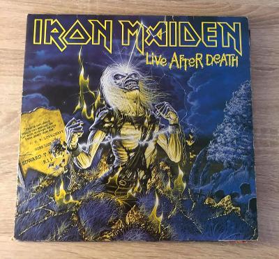 2 LP - Iron Maiden – Live After Death (SUPER STAV)