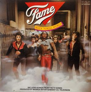 LP The Kids From Fame – Rock 'N Roll World, 1983 EX