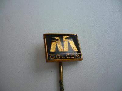 Starý odznak hornický - DŮL ČSM černý