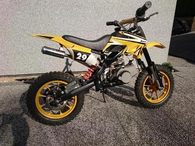 """XS moto 50ccm 10"""" kola"""