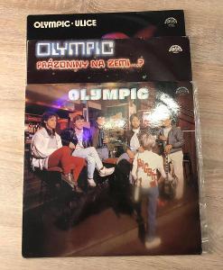 3 x LP Olympic - Bigbít, Ulice, Prázdniny na zemi