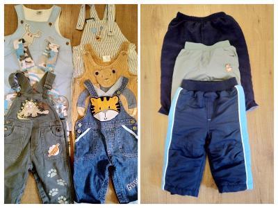 Chlapecké oblečení vel. 62-68 (56 kusů)