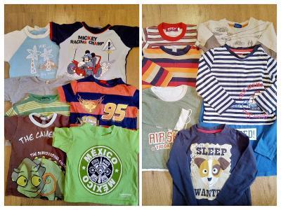 Chlapecké oblečení vel. 74-80
