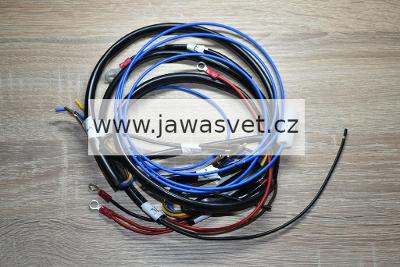 Elektroinstalace Jawa 555