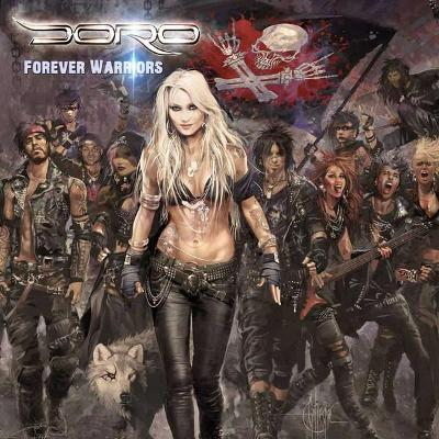 2LP DORO-FOREVER WARRIORS LP ALBUM 2018.