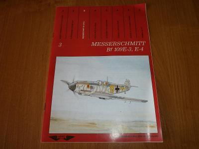 publikace Messerschmitt BF 109E-3,E-4    /Aero Team/