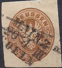 PREUSSEN ( Prusko ) Mi. GGA 17, razítkovaná