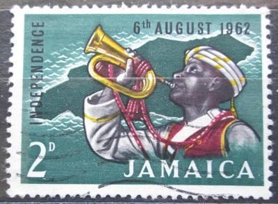 Jamajka 1962 Trumpetista Mi# 195 0140