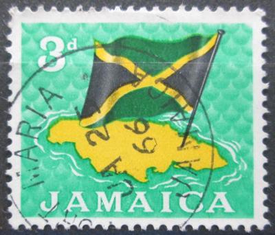 Jamajka 1964 Státní vlajka Mi# 223 0141