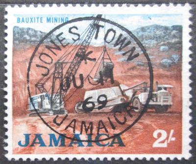 Jamajka 1964 Těžba bauxitu Mi# 230 0142