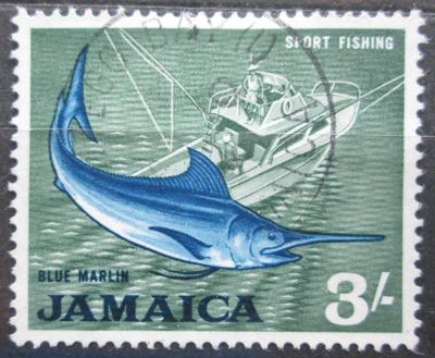 Jamajka 1964 Marlín modrý Mi# 231 0142