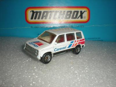 Matchbox Dodge Caravan r.1984