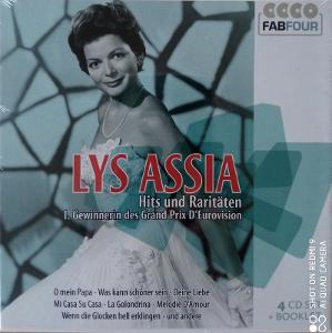 ASSIA LYS Hits und Raritaten 4 CD BOX Fab Four
