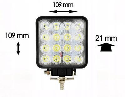 Pracovní Světlo HALOGEN SVĚTLA 16 LED 48W