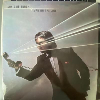 Chris de Burgh – Man On The Line - LP vinyl