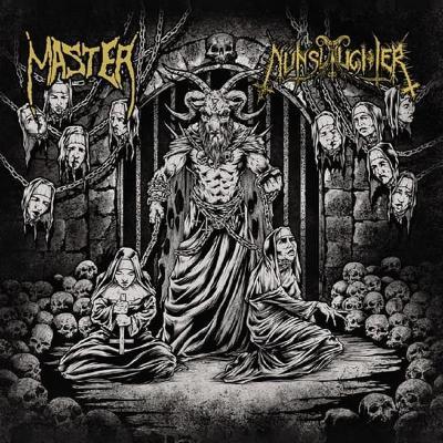 MASTER / NUNSLAUGHTER split LP Gatefold