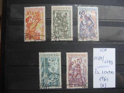 série 1189 / 1193 - Československé loutky 1961 (5) - H-24