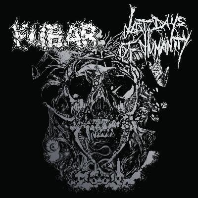 "LAST DAYS OF HUMANITY / FUBAR split 9"" LP"