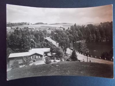 Ústí nad Orlicí Žamberk Přehrada Pastviny kemp camp tábor