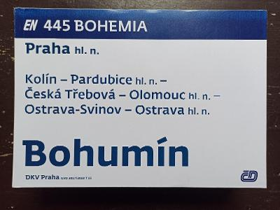 Směrová cedule EN 445/444 BOHEMIA