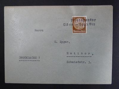 SUDETY,  dop. s raz. Gros - Hoshütz